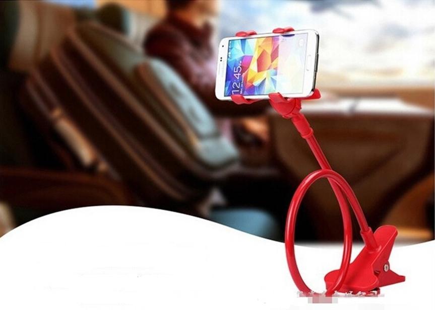 Suporte Universal para celular tipo tubo flexível 360 graus