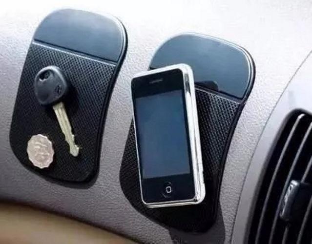 Tapete Aderente Suporte Celular Anti Derrapante em Silicone para Painel Carro adesivo Acessórios para Carros