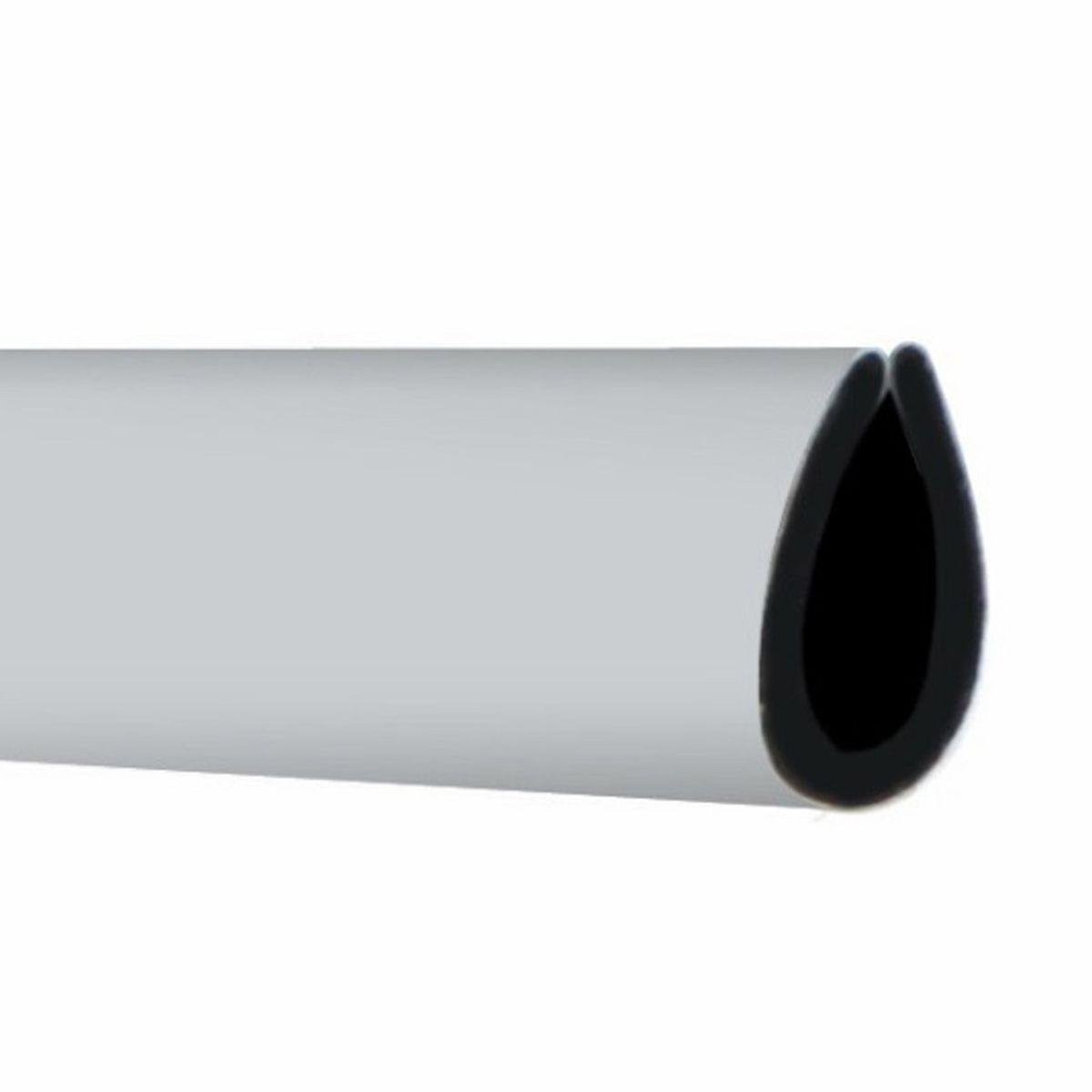 Tira Moldura Cromada Prata Forma U 4 m Decoração Interior ou Exterior Carro