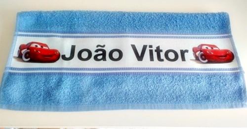 Toalha de Banho Personalizada na faixa