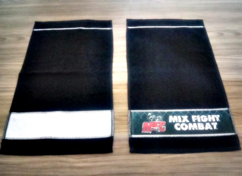 Toalha de Lavabinho Faixa Personalizada