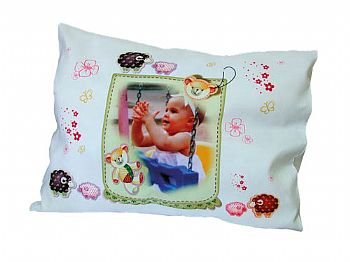 Travesseiro infantil com Enchimento Personalizado