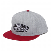 Boné Vans - Classic Patch Snapback Heather Grey