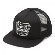 Boné Vans - Fulton Trucker Black