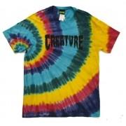Camisa Creature - Especial Shredded Tie Dye