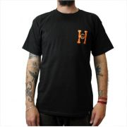 Camisa HUF - Spitfire Flaming H Black