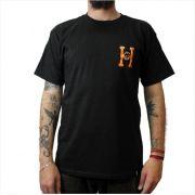 Camisa HUF - Spitfire Flaming H Black