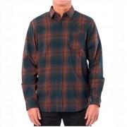 Camisa Rip Curl - Charge L/S Shirt Verde