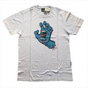 Camisa Santa Cruz - Screaming Hand Branca
