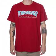 Camisa Thrasher - Outlined Vermelho