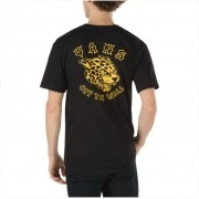 Camisa Vans - Gnarcat SS Black