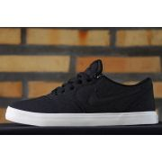 Tênis Nike SB - Check Solar Canvas Black/Black-Team Red