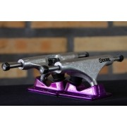 Truck Crail 136 Mid Solid Logo Purple/Silver