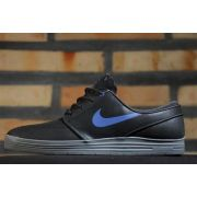 Tênis Nike SB - Lunar Stefan Janoski Black/Game Royal Cool Grey