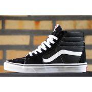 Tênis Vans - U Sk8 High Black/Black/White