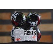 Roda Bones - STF Streettech V3 Gravette Zombie Black 54mm