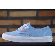Tênis Vans - U Authentic Slim (Rope Lace) Malibu Blue/Coral