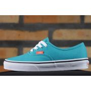 Tênis Vans - U Authentic Tile Blue/Coral (Neon)
