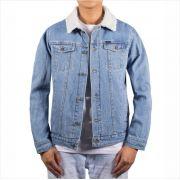 Jaqueta Rip Curl - Angus Denim Jacket Mid Blue