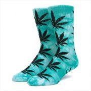 Meia HUF - Plantlife Tie Dye Green