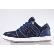 Tênis Nike SB - Air Force II Low QS X Tupac Shakur Binary Blue/White