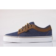 Tênis Vans - M Chukka Low Denim/Brown (Leather)