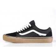 Tênis Vans - MN Old Skool Pro Black/White/Medium Gum
