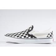 Tênis Vans - UA Classic Slip On Checkerboard Black/White