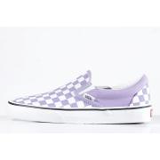 Tênis Vans - UA Classic Slip On (Checkerboard) Chalk Violet/True White