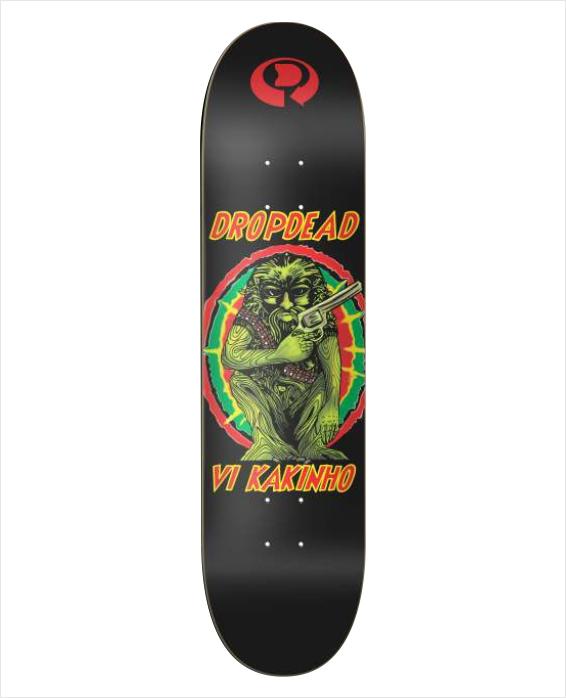 "Shape Dropdead - Heat Transfer Pro Model Grower Vi Kakinho 7.9""  - No Comply Skate Shop"