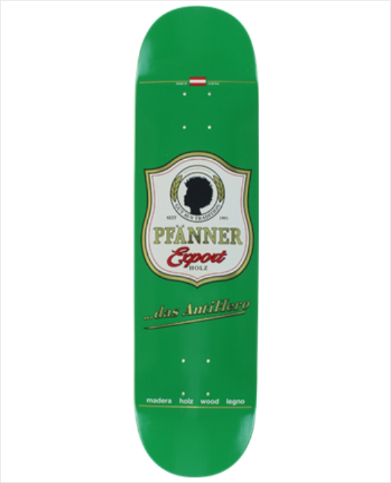 "Shape Anti Hero - PFänner Export Holz 8.25""  - No Comply Skate Shop"