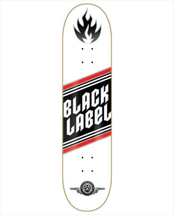 "Shape Black Label Top Shelf Metal 8.385""  - No Comply Skate Shop"