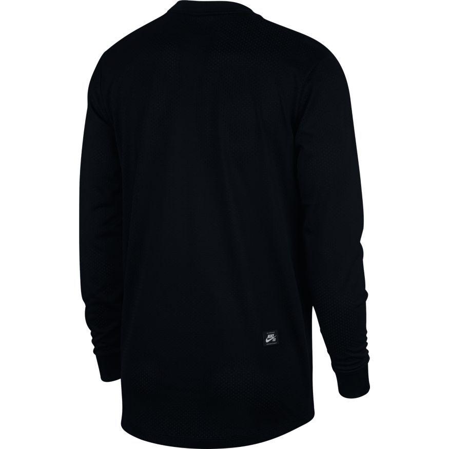 Blusão Nike SB - Dry Top GFX LS Black/Black  - No Comply Skate Shop