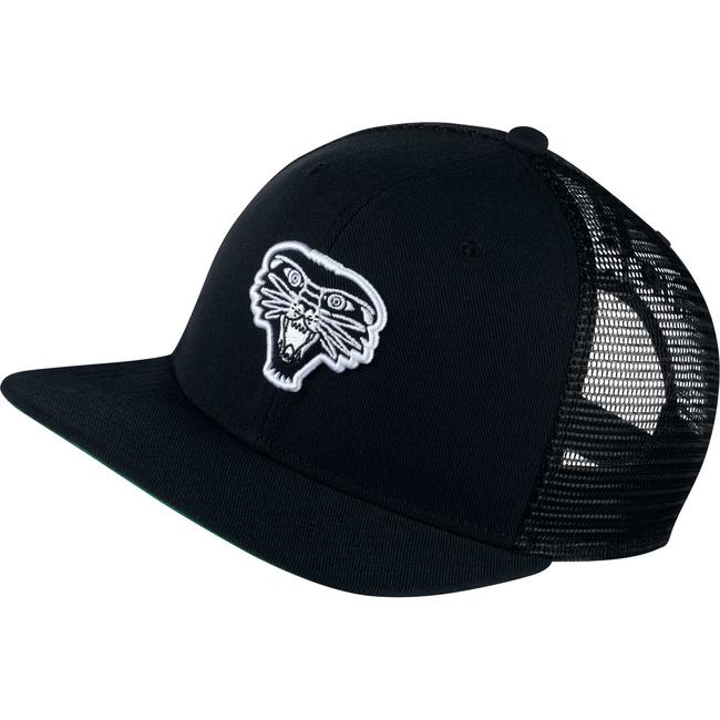 Boné Nike SB - Patch Trucker Black/Pine Green  - No Comply Skate Shop