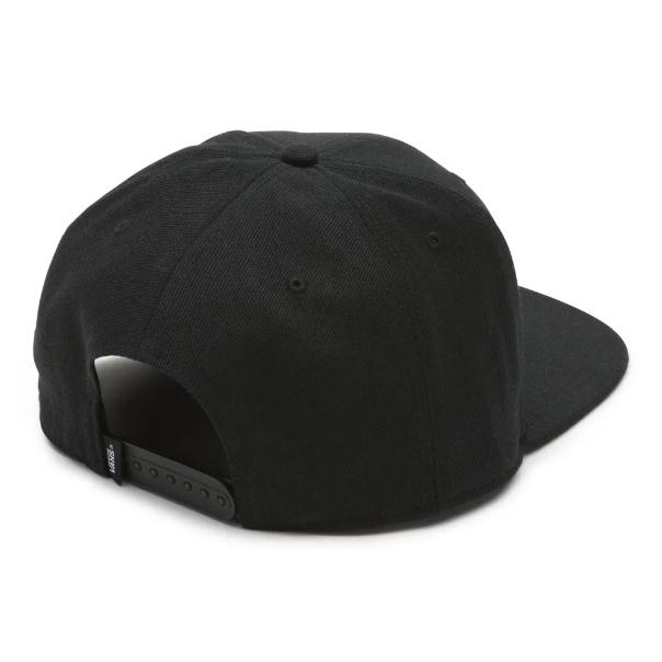 Boné Vans - Block Snapback Black  - No Comply Skate Shop