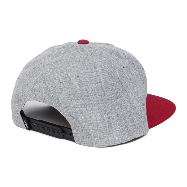 Boné Vans - Classic Patch Snapback Heather Grey  - No Comply Skate Shop