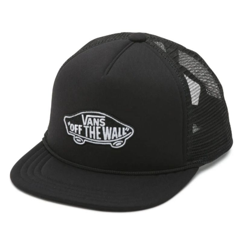 Boné Vans - Classic Patch Trucker Infantil Black  - No Comply Skate Shop