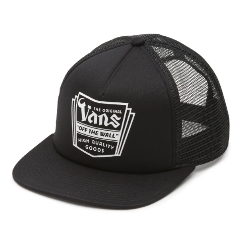 Boné Vans - Fulton Trucker Black  - No Comply Skate Shop