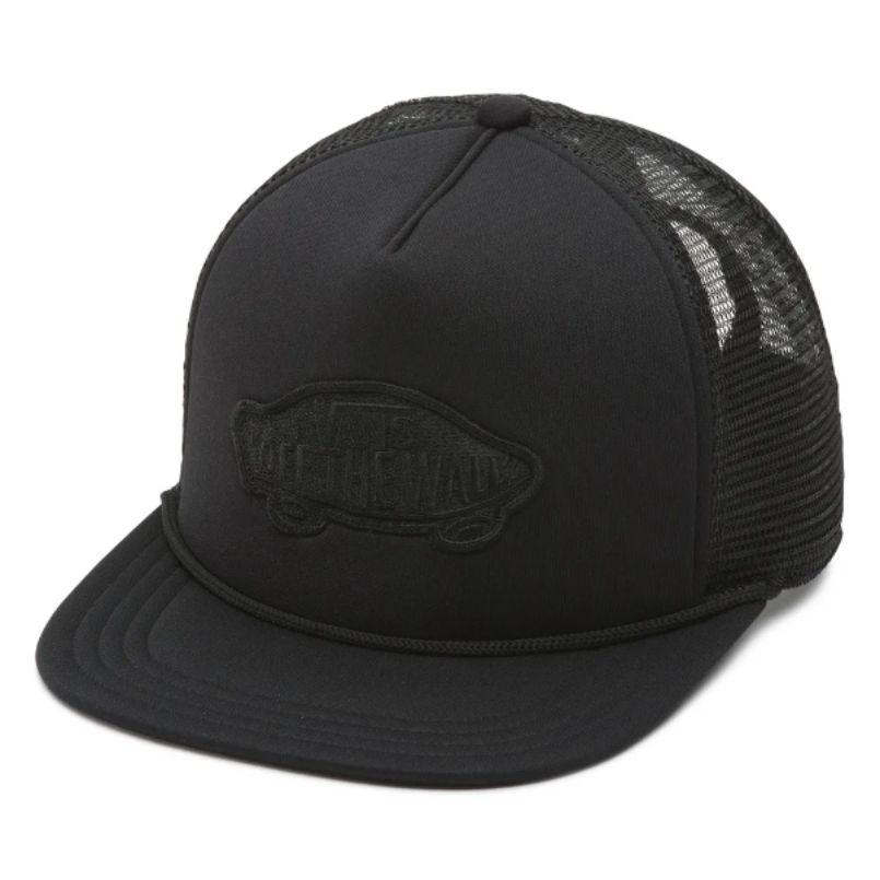 Boné Vans - MN Classic Patch Trucker Black  - No Comply Skate Shop
