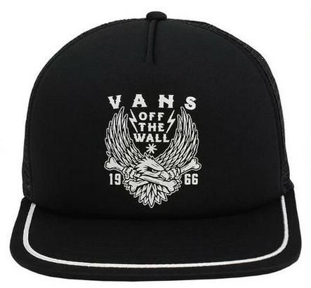 Boné Vans - MN Trask Trucker Black  - No Comply Skate Shop