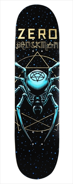 "Shape Zero - Brockman Spider 8.125""  - No Comply Skate Shop"