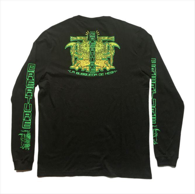 Camisa Creature - M/L Busqueda De Hesh  - No Comply Skate Shop