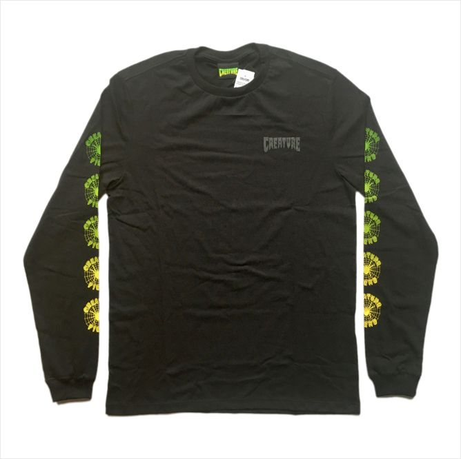Camisa Creature - M/L Fiend Web  - No Comply Skate Shop