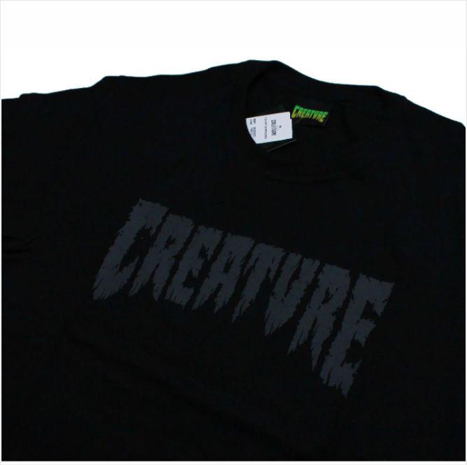 Camisa Creature - Shredded Preto  - No Comply Skate Shop