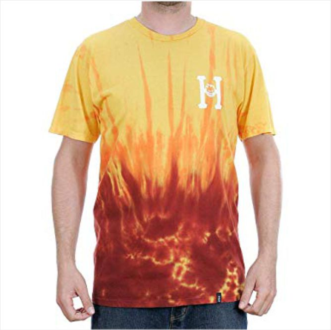Camisa HUF - Spitfire Classic H Red  - No Comply Skate Shop