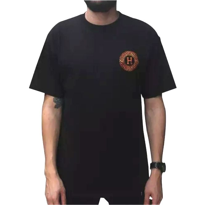 Camisa HUF - Spitfire Fire Black  - No Comply Skate Shop