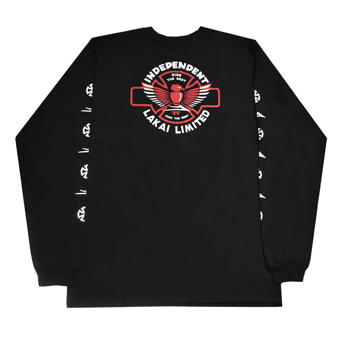 Camisa Independent M/L Indy Preto  - No Comply Skate Shop