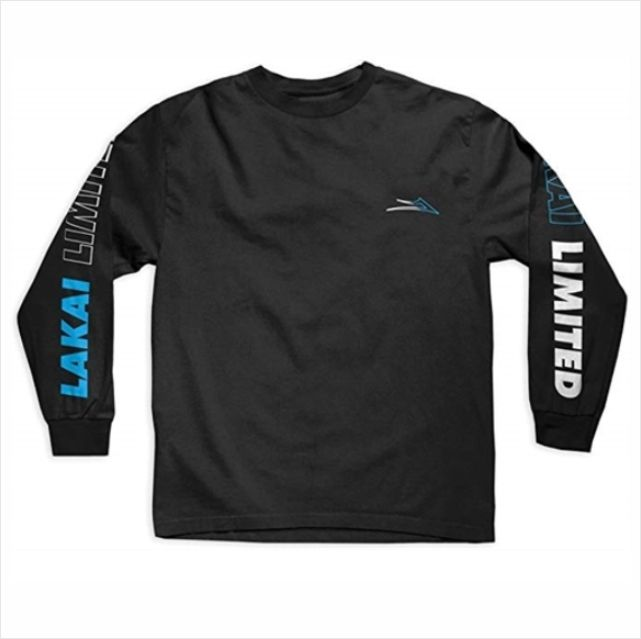 Camisa Lakai M/L Racing Preto  - No Comply Skate Shop