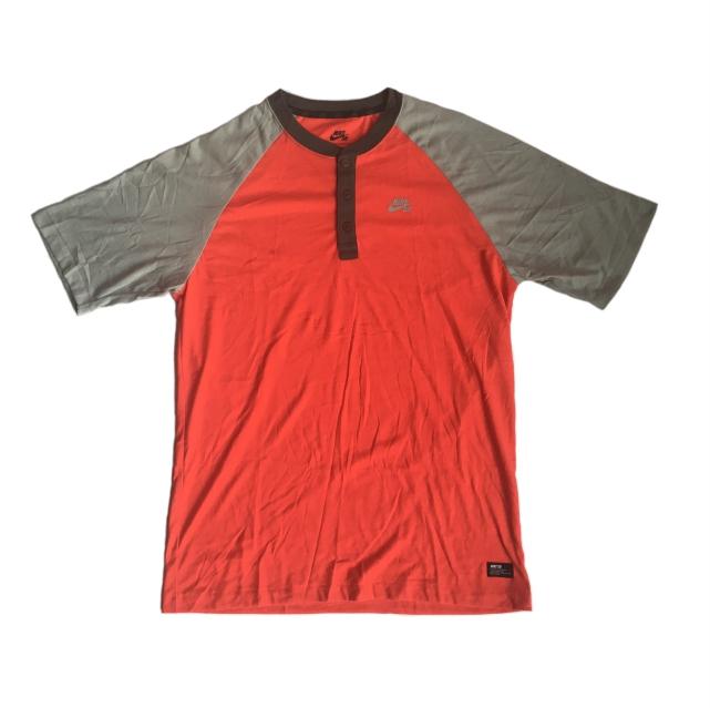 Camisa Nike SB - Raglan Red/Grey Dri-Fit  - No Comply Skate Shop
