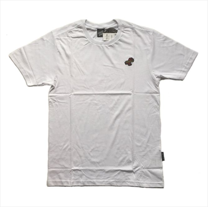 Camisa Santa Cruz - OGSG Bottom Branca  - No Comply Skate Shop